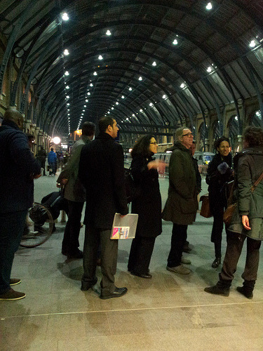 Harry Potter station location discovered on Changify Kings Cross 7th November walk