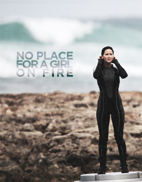 "This is no place for a girl on fire."" (Jennifer Lawrence on 'Catching Fire' Set in Hawaii)"