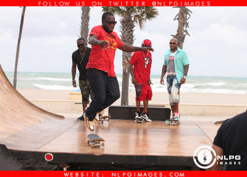 "Behind The Scene of Let It Roll with Flo Rida - http://bit.ly/ReL7sp NLPGimages ""We're Everywhere You're Not"""