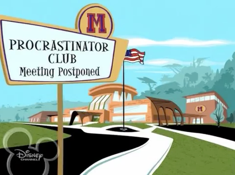dr3amingofdisn3y:  the-weed-wizard:  if you don't think Kim Possible's school sign was the best then you need to get out of my face.  YES!