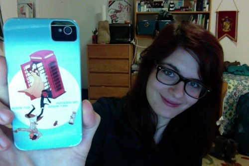 andmyvaginawasbroadway:  Wait HOW HAVE YOU NEVER SEEN PICS OF YOUR PHONE CASES THEY ARE PERFECT. Anyway this gem is from hoursago/blue's society 6 shop and it is perfect in every way and I have had so many New Yorkers ask me where I got it/what the reference is, or else enthusiastically high-five me in the street. Also public service announcement I look like shit but after no sleep and like 12 hours in an airport it's acceptable  oh my god really!!!!! NEW YORK WHY YOU BEIN ALL COOL that's so cute ahhhh  gosh thank you i am so proud