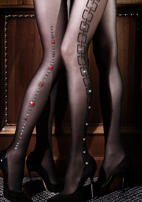 Holiday Lingerie Shopping Guides: 12 Socks, Stockings & Tights (Tights shown by Emilio Cavallini)