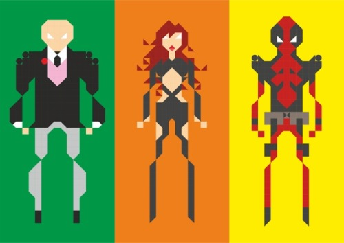 Pixel Game Heroes by Sayon Chatterjee