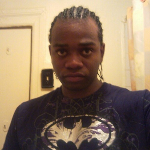 themagnify:  Me with a #batman #tshirt. #cornrows #braids #awesome #me #self
