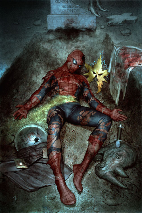 fyeahmarvelcomics:  Amazing Spider-Man #612 variant cover by Adi Granov