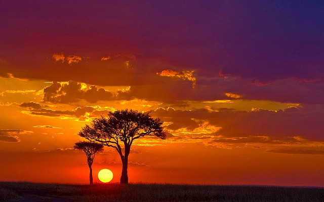 IMG_0070 -Gorgeous Sunset -Masai Mara by maqsmughal on Flickr.