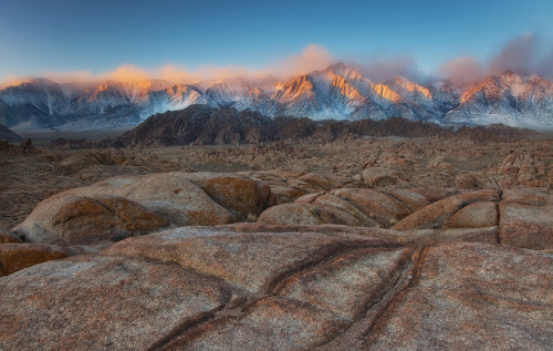 sapphire1707:  Magical Light - Alabama Hills, Lone Pine, CA by D Breezy - davidthompsonphotography.com on Flickr.