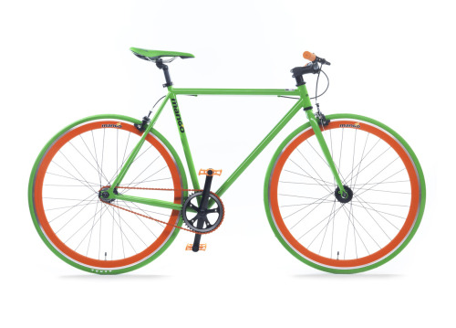 Forget boring dull colours for your bike when you can have a rainbow of choice and customise your own from just £269 at www.mangobikes.co.uk. Bright pink? You got it!