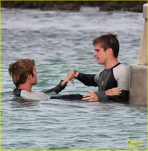 The Hunger Games: Catching Fire | HAWAII SET PHOTOS