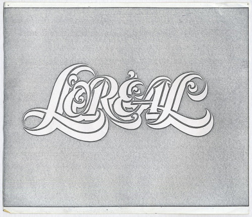 Typeverything.com - L'Oreal by Joe Sundwall. (via actualidea)