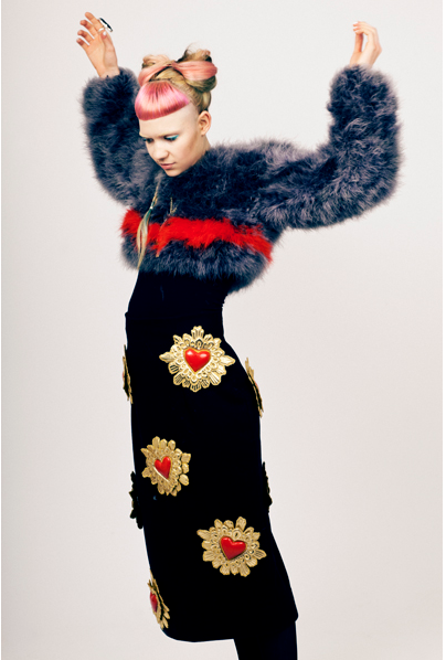ktzofficial:  KTZ Sacred Heart Dress | AW12