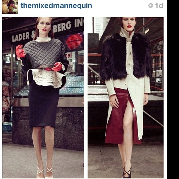 #repost love the look!! Soo sleek, elegant, yet young and somewhat edgy, I feel very inspired right now!!