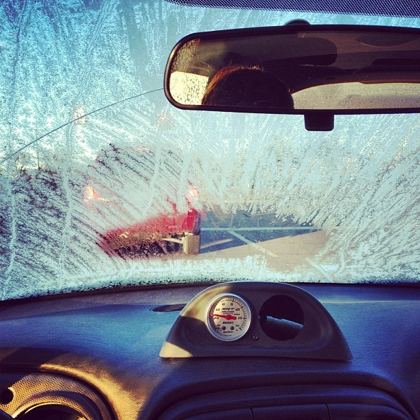 So I guess that's what I'm driving through today..winter sure is an adventure.