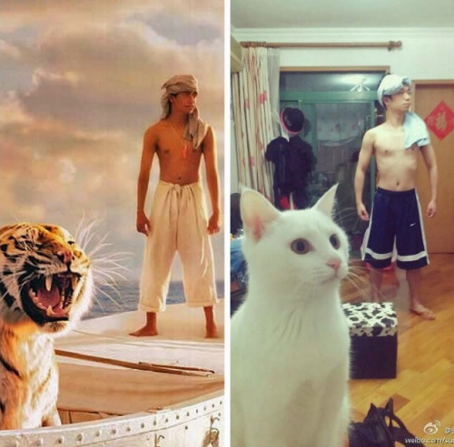 tastefullyoffensive:  Close enough.[via]
