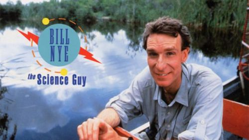 "jtotheizzoe:  scinerds:  Happy Birthday Bill Nye the Science Guy! ""Everyone you will ever meet knows something you don't."" ― Bill Nye  Happy Birthday, Bill! You're a real role model."