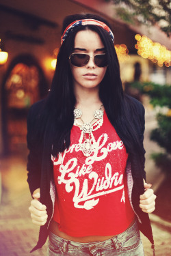 heathertunches:  Spread Love like Wildfire available at www.11elevenapparel.com