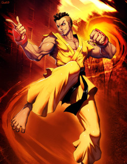 Street fighter - Sean by *GENZOMAN