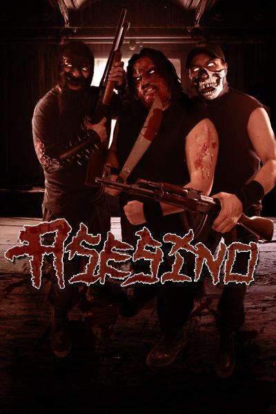 conlasbotaspuestas:  Asesino … If you haven't heard this band so this is the time to do it !!!… Pure sick grindcore from latino hatred … I'm not mexican … but this is just pure musical sickness !!! Que viva México cabrones !!!