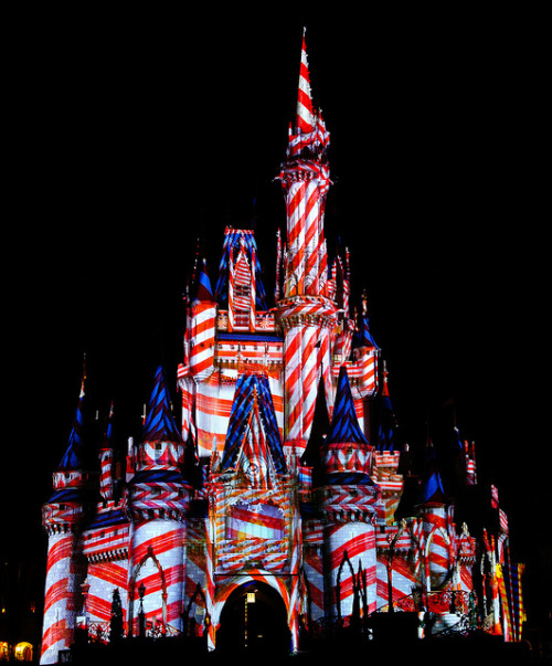 disneyforeverlives:  Candy Cane Castle by Paul Gowder on Flickr.