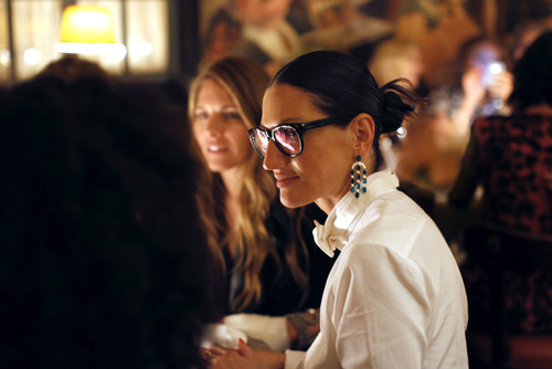 Shit, I love Jenna Lyons. Girlfran invented boy-girl dressing, and pulls it off flawlessly, effortlessly, and perfectly. She inspires legions of style followers, and is my favorite trendsetter. Jenna Lyons, J.Crew President and Creative Director/Walking Epitome of Style, Substance, and Class -CITIZEN CAIN