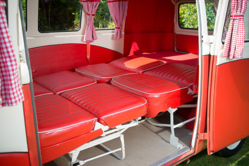 This '64 Split Screen 'Dormobile' Campervan has quite the history, including being sold for charity. Read more about it here.