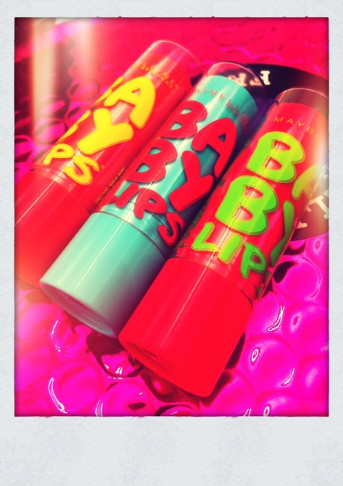 #NEW #BabyLips flavours now available for a limited time only! Oh & here's a coupon: http://bit.ly/UTDBjY !