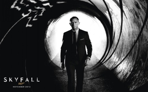 From a Bond Girl…with love. Top 5 reasons to see SKYFALL 1. Daniel Craig delivers the perfect mix of heroism and humor 2. Best post-1985 Bond villain yet 3. Multiple classic Bond references for the superfan 4. Lots of scenes in London 5. Opening credits are goth-friendly