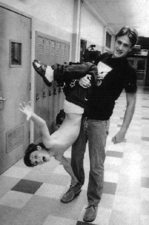 "Above: Jason Segel and John Francis Daley during their ""Freaks And Geeks"" days. Click through our compilation for more '90s throwbacks."