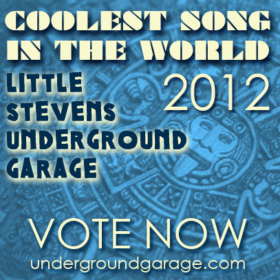 Go to Lil' Steven's Underground Garage Website to vote for our Song Missionary as the 2012 Coolest Song in the World and you'll be entered to Win a 5 day/ 4 night stay w/ Airfare and $500 @ the Hard Rock Hotel San Diego!