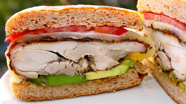 Coffee-Rub Chicken Sandwich Recipe Flavorful twist on a classic dish! Click photo for recipe.