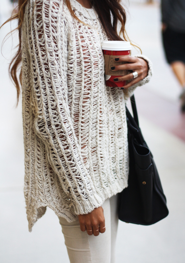 winter white & starbucks