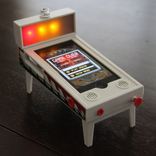 inspirationfeed:  (via iPhone Pinball Magic Game)