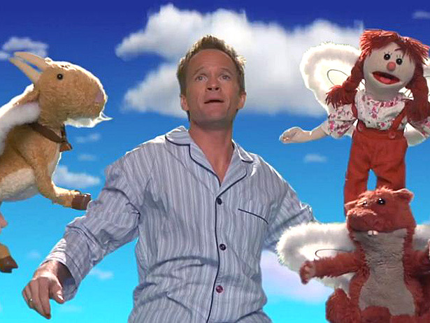 Did you know Neil Patrick Harris dreams in puppet?  This web series is our new favorite Internet thing.