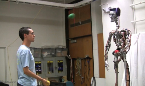 laughingsquid:  Robot That Plays Catch and Juggles With a Human Partner