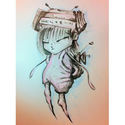 franz-grinder:  New #sketch. Wash and pen.