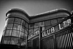 Copland Road Gates, Ibrox Stadium. by ~davidjearly