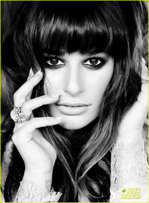 Lea Michele looks amazing in this photo from Flare Magazine.