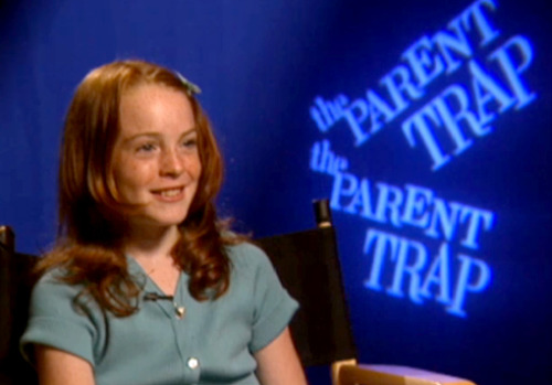 "This exclusive clip of 10-year-old Lindsay Lohan talking about how she just wants to ""stay a normal kid, go to college, [and] go to regular school"" is kind of a bummer — but you'll probably want to watch it anyway."