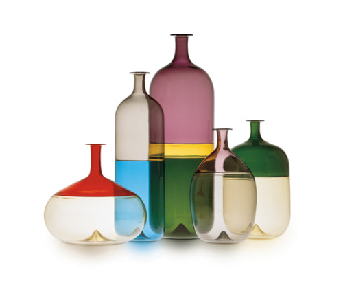 via architonic  'Bolle' bottles by Tapio Wirkkala