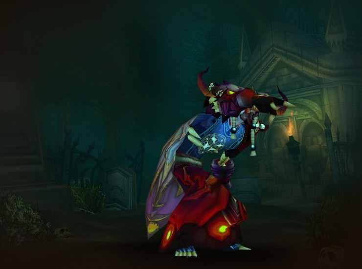 Rottenapart of the Nightfall Male Undead Warlock US Thrall [Hood of the Malefic] [Shadowsummoner Spaulders] [Cloak of Snow Blossoms] [Robe of the Malefic] [August Celestials Tabard] [Minh's Beaten Bracers] [Gloves of the Malefic] [Ruby-Linked Girdle] [Leggings of the Poisoned Soul] [Sandals of the Blackest Night] [Staff of Infinite Mysteries]
