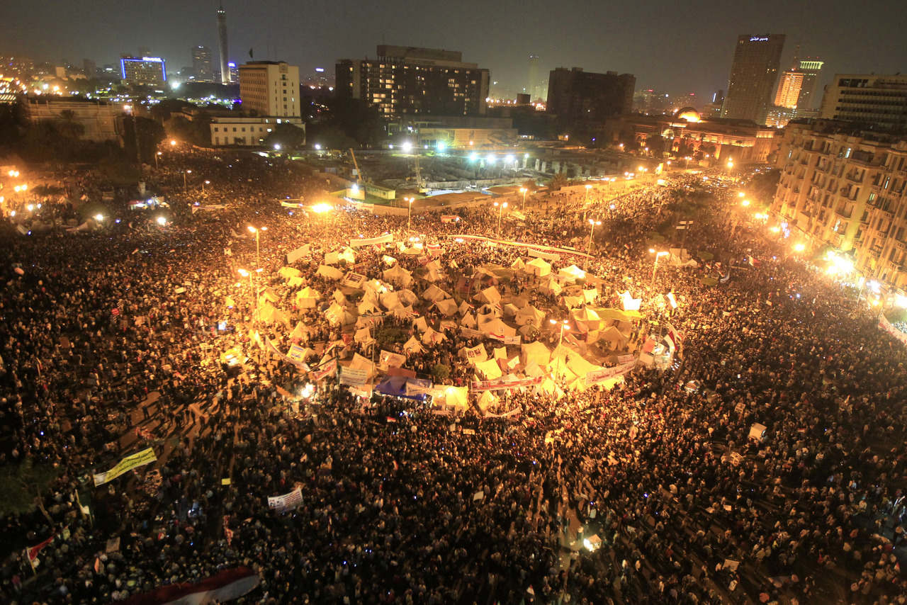 LIVE COVERAGE: Rolling updates on Egypt, live video of Tahrir Square