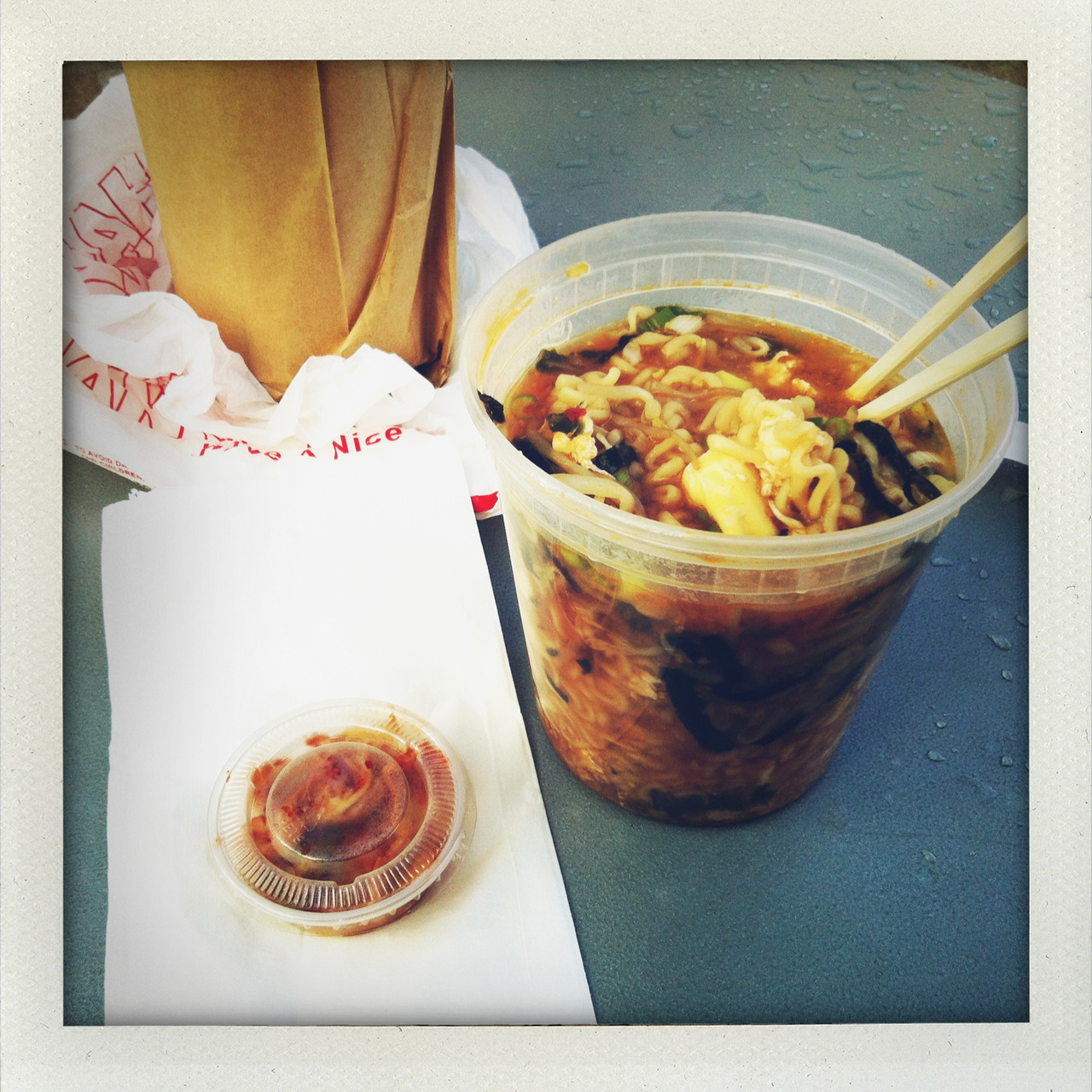 ramyun from no1 bento. the best meal $5 can get you on a cold winter's day.