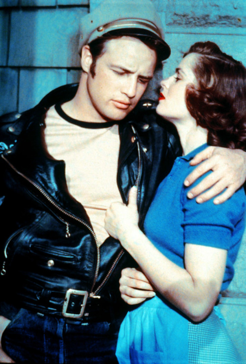 Marlon Brando and Mary Murphy in The Wild One (1953)