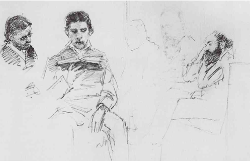 image via: biblioklept Ilya Repin, Reading Aloud, 1878 On October 20, Triple Canopy hosted Automatic Reading, a seminar addressing the act of reading as a part of contemporary artistic practice. Here we present a recording of the seminar, in which Erica Baum, Franklin Bruno, Corina Copp, Jim Fletcher, Ariana Reines, Mónica de la Torre, and R. H. Quaytman discuss of how the legacy of conceptualism has challenged traditional notions of reading both as an exchange between an individual and a text and as a public activation of the written word.