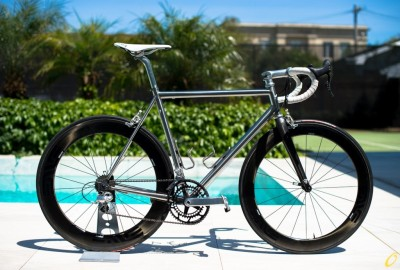 bikesandgirlsandmacsandstuff:  (via Stainless Steel Firefly Road Bike)