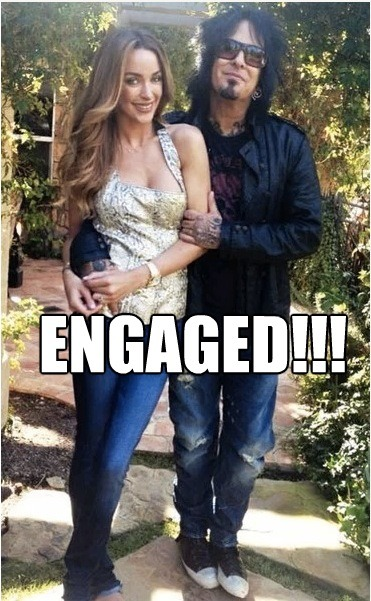 Congratulations to NIkki Sixx and Courtney Bingham!!!