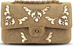 Chanel Cruise 2013 Flap Bag in Gold-Embroidered
