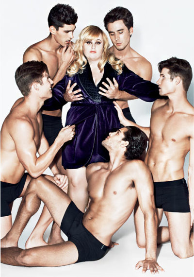 Rebel Wilson for Details Magazine [Dec 2012]