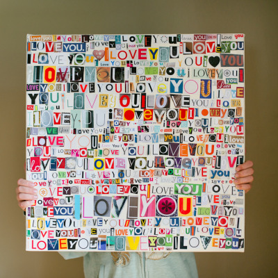 Simple and beautiful DIY for the one you love. (via)