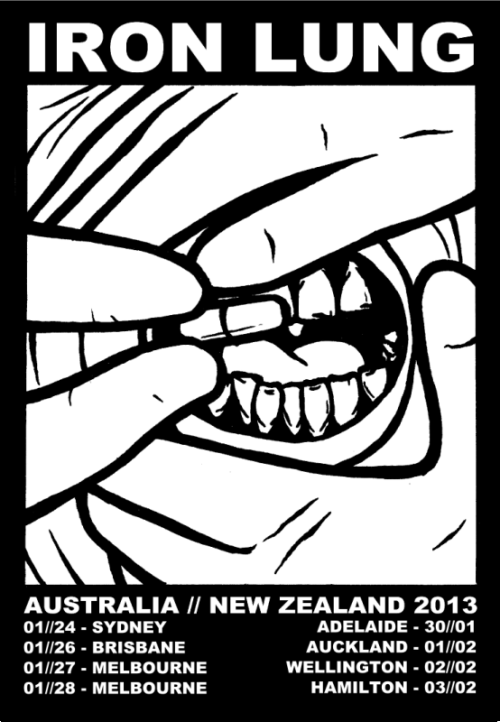 Proud to be playing the Auckland show with Sex Pest and Graves